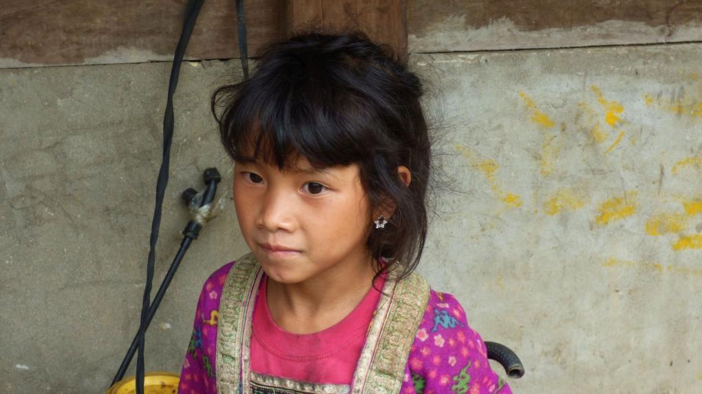 Laos Mädchen