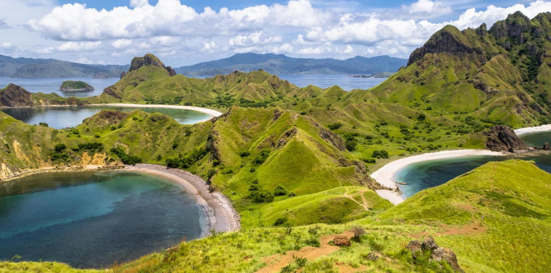 Flores Komodo Reise - Bootstrip Padar-Insel