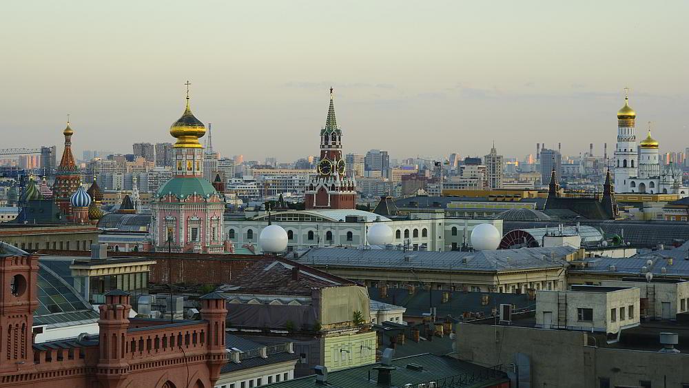 Moskau Reise