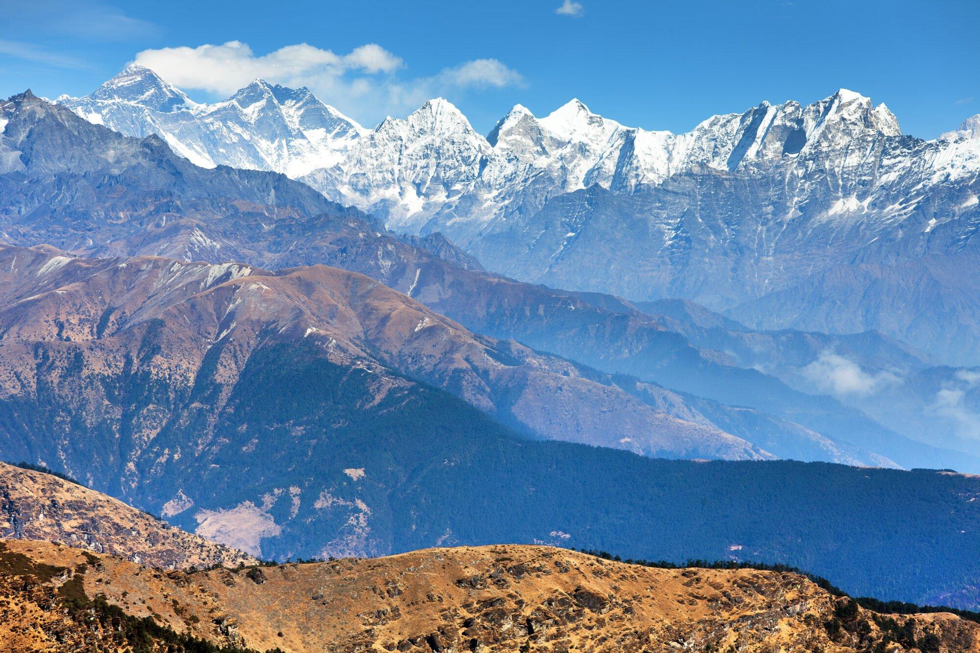Pikey Peak Trekking für Anfänger + Chitwan Nationalpark